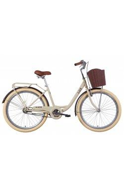 """Велосипед Велосипед 26"""" Dorozhnik LUX 2021 (зеленый)"""