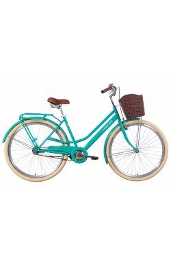 """Велосипед Велосипед 28"""" Dorozhnik COMFORT FEMALE 2021 (бирюзовый)"""