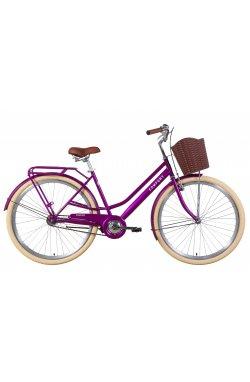 """Велосипед Велосипед 28"""" Dorozhnik COMFORT FEMALE 2021 (фиолетовый)"""