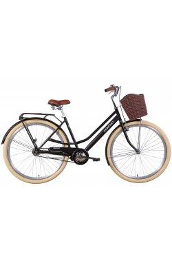 """Велосипед Велосипед 28"""" Dorozhnik COMFORT FEMALE 2021 (черный (м))"""