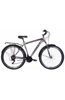 """Велосипед Велосипед 28"""" Formula MAGNUM 2021 (черно-оранжевый (м))"""