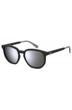 Солнцезащитные очки женские Polaroid PLD2095/S-003-EX - квадратные, Цвет линз - серый