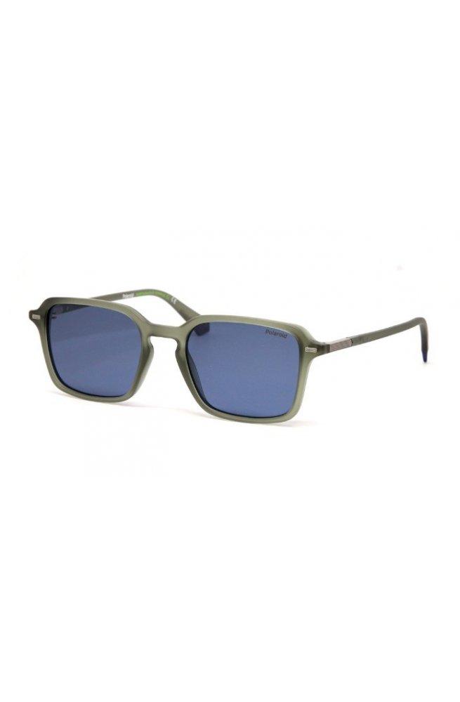 Солнцезащитные очки женские Polaroid PLD2110/S-DLD-C3 - квадратные;прямоугольные, Цвет линз - голубой