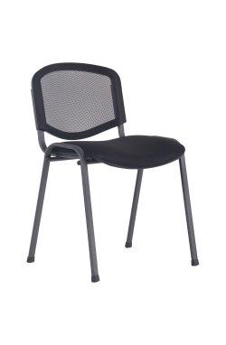 Стул Изо Веб черный сиденье А-1/спинка Сетка черная - AMF - 286919