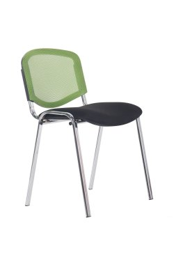 Стул Изо Веб хром сиденье А-1/Спинка Сетка салатовая - AMF - 289803