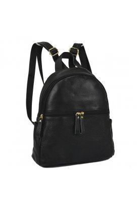 Женский кожаный рюкзак черного цвета NM20-W008A - натуральная кожа, черный