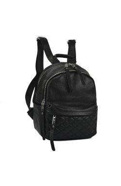 Женский кожаный рюкзак городского типа NWBP27-8031A-BP - натуральная кожа, черный
