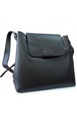 Женская кожаная сумка через плечо F-S-GR-9090A - натуральная кожа