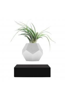 Левитирующий вазон «FLYTE Planter», черный - wws-9163