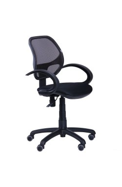 Кресло Байт/АМФ-5 сиденье Сетка черная/спинка Сетка серая - AMF - 117387