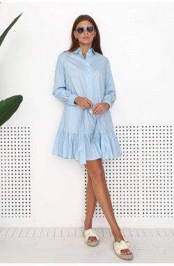 Платье 3200-PW01 - Блакитний
