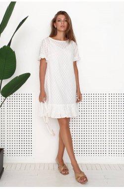 Платье 3201-PW01 - Молочний