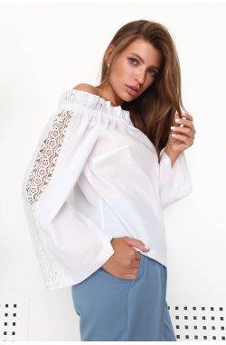 Блуза 3205-c01 - Білий