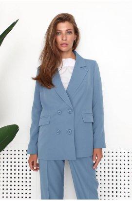 Пиджак 3213-PW01 - Голубой
