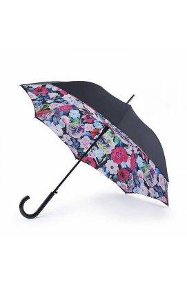 Зонт-трость женский Fulton L754 Bloomsbury-2 Vibrant Floral (Яркие цветы)