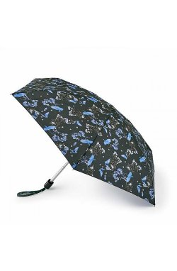 Мини зонт женский Fulton L501 Tiny-2 Blue Bird (Синяя птица)
