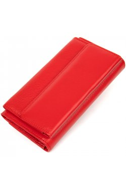 Классический женский кошелек ST Leather19376 Красный