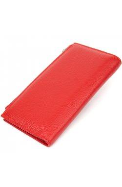 Женский кожаный кошелек ST Leather19381 Красный
