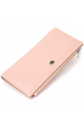 Женский кошелек из натуральной кожи ST Leather19383 Розовый