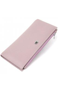 Женский кожаный кошелек ST Leather19384 Лиловый
