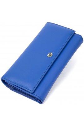 Женский кошелек из натуральной кожи ST Leather19386 Синий