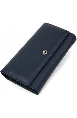 Женский кошелек ST Leather19387 Темно-синий
