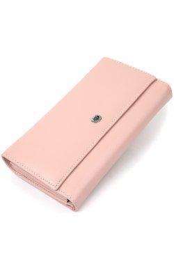 Вместительный женский кошелек ST Leather19390 Розовый