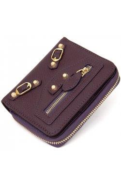 Кожаный женский кошелек Guxilai19396 Фиолетовый