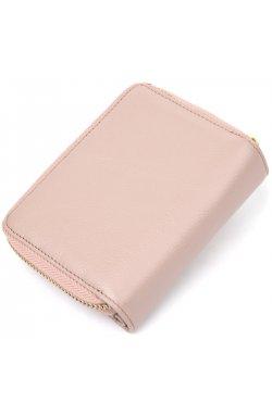 Кожаный симпатичный женский кошелек Guxilai19398 Светло-розовый