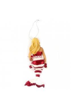 """Фигура подвесная """"Мисс Сахарная Санта"""" - wws-9173"""