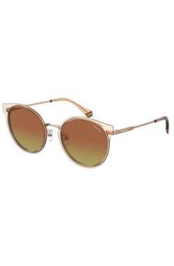 Солнцезащитные очки женские Polaroid PLD6152/G/S-DDB-LA - круглые;овальные, Цвет линз - коричневый