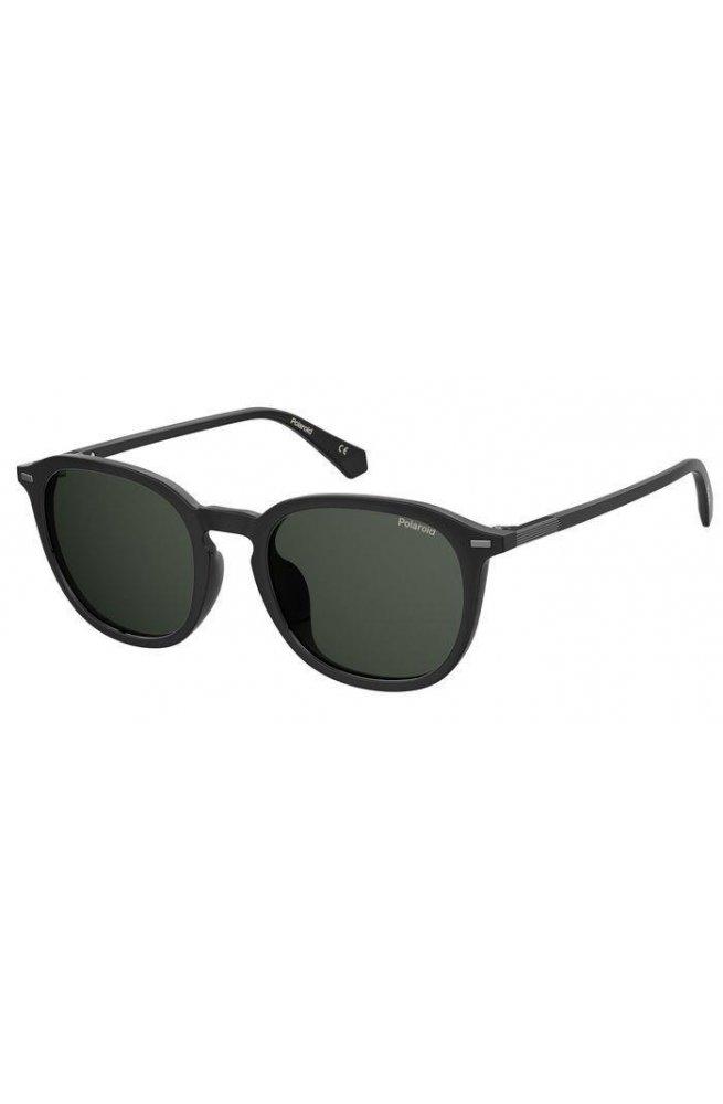 Солнцезащитные очки женские Polaroid PLD2115/F/S-807-M9 - квадратные;круглые, Цвет линз - тёмно-серый