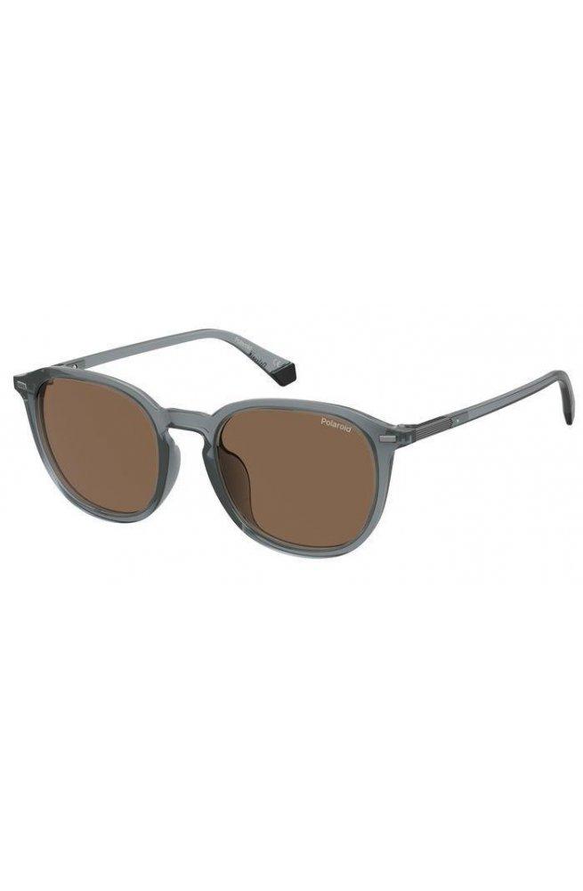 Солнцезащитные очки женские Polaroid PLD2115/F/S-KB7-SP - квадратные;круглые, Цвет линз - коричневый
