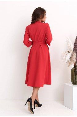 Платье 3219-c01 - Червоний