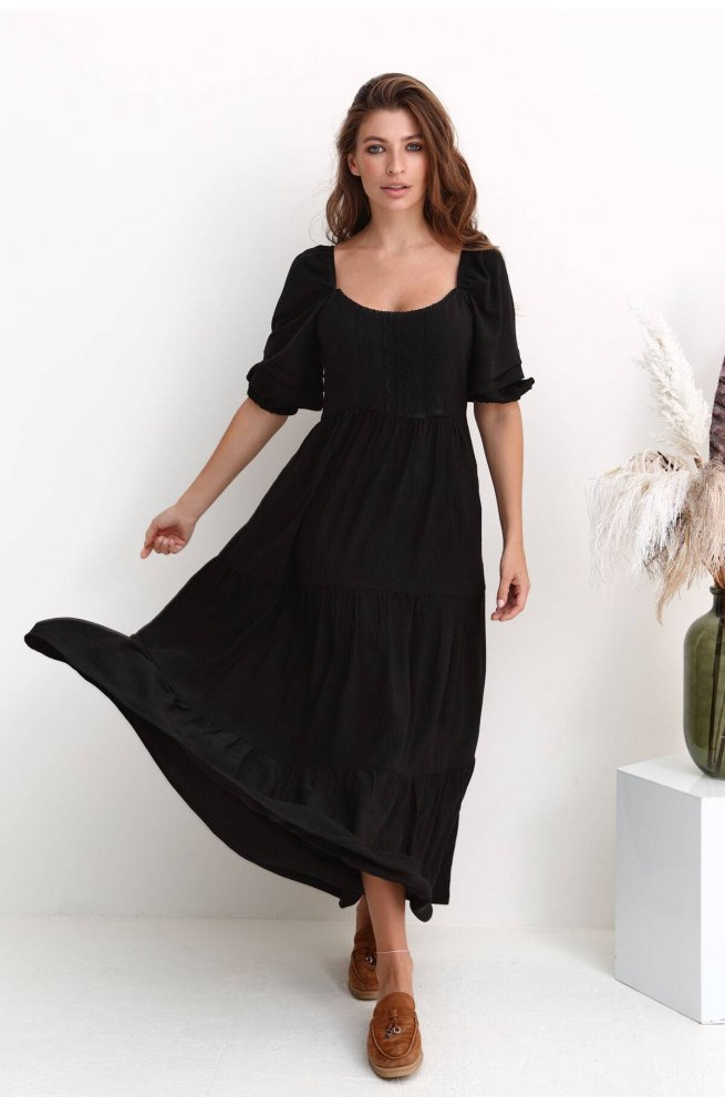Платье 3222-c01 - Чорный