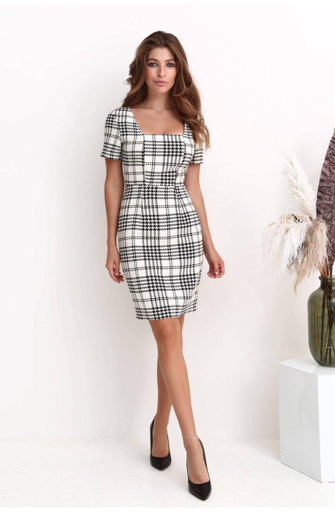 Платье 3224-c01 - Молочний