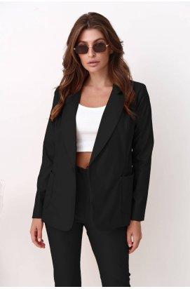 Піджак 3235-PW02 - Чорный