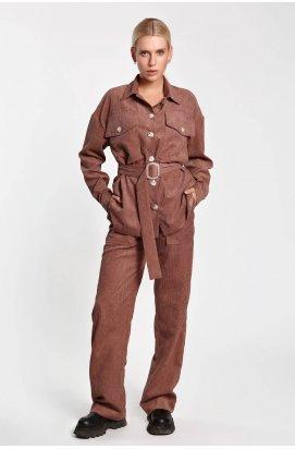 Рубашка 3248-PW01 - Мокко