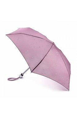 Мини зонт женский Fulton L501 Tiny-2 Glitter Stars (Блестящие звезды)