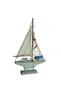 Макет ООТВ Парусник деревянный 19 х 30 см - wws-3949