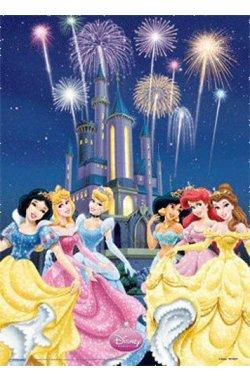 """Постер 3D A3 """"Disney Princess """" 30 х 40 см - wws-7111"""