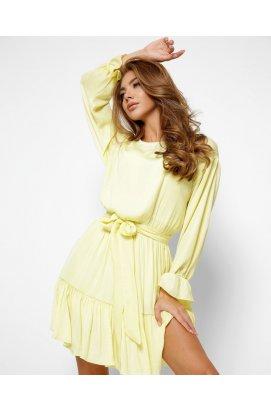 Платье Carica КР-10387-12 - Цвет Лимонный