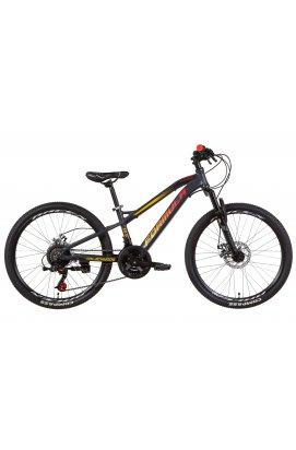 """Велосипед Велосипед 24"""" Formula BLACKWOOD 2.0 2021 (бело-фиолетовый с голубым)"""