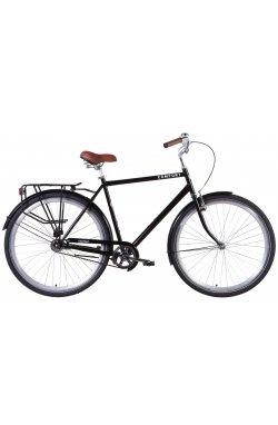 """Велосипед Велосипед 28"""" Dorozhnik COMFORT MALE 2021 (черный)"""