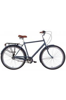 """Велосипед Велосипед 28"""" Dorozhnik COMFORT MALE планет. 2021 (черный)"""