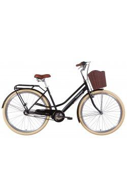 """Велосипед Велосипед 28"""" Dorozhnik COMFORT FEMALE планет. 2021 (черный (м))"""