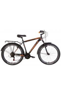 """Велосипед Велосипед 26"""" Formula MAGNUM 2021 (черно-оранжевый (м))"""