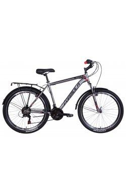 """Велосипед Велосипед 26"""" Formula MAGNUM 2021 (серый с красным)"""