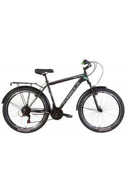 """Велосипед Велосипед 26"""" Formula MAGNUM 2021 (черно-зеленый (м))"""