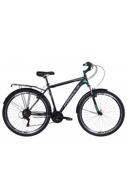 """Велосипед Велосипед 28"""" Formula MAGNUM 2021 (черно-зеленый (м))"""